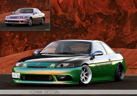 iceman graphics lexus sc300 jdm by iceman