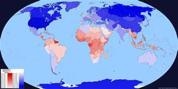 What Is World Which Country Is On Average The And What Was The