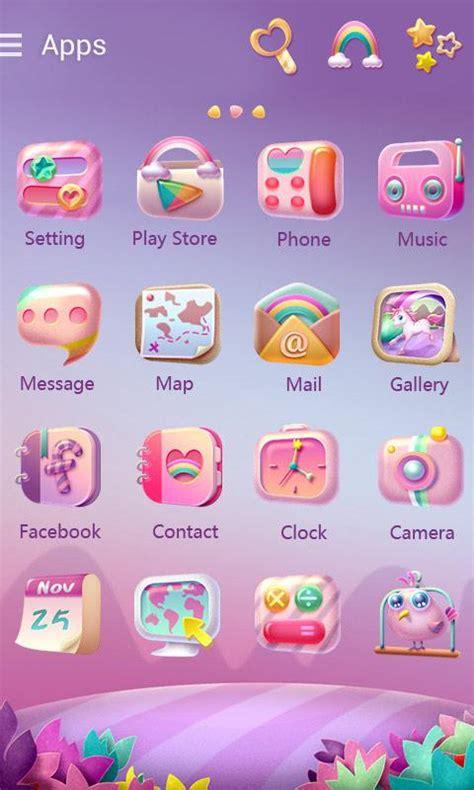 theme google unicorn unicorn go launcher theme android apps on google play