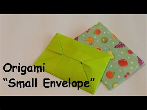 Small Origami Envelope - origami small envelope ぽち袋の折り方