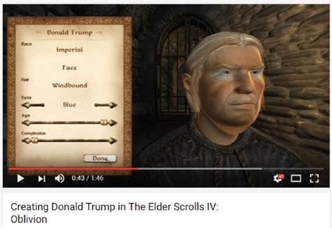 donald trump zenimax 25 best memes about elder scrolls iv oblivion elder