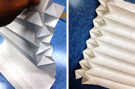 Cutting Origami - interactive and computational design 2012