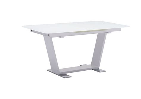 St Charles Extension Dining Table White Furnishplus White Extension Dining Table