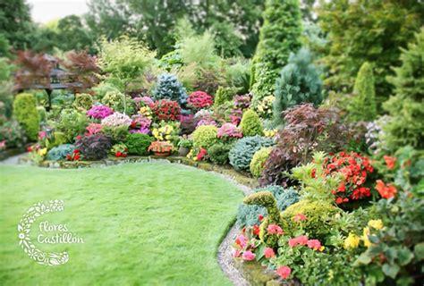 imagenes jardines grandes ideas para decorar grandes jardines flores castillon