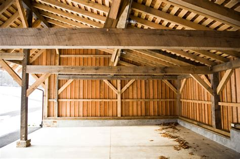 Garage Framing Basics by Chester County Carriage Shed Traditional Garage And