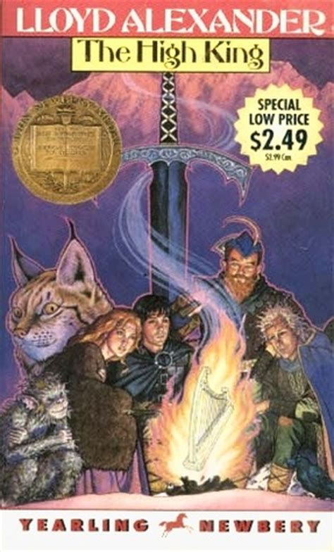 the high king the chronicles of prydain book 5 50th anniversary edition books the high king the chronicles of prydain 5 by lloyd