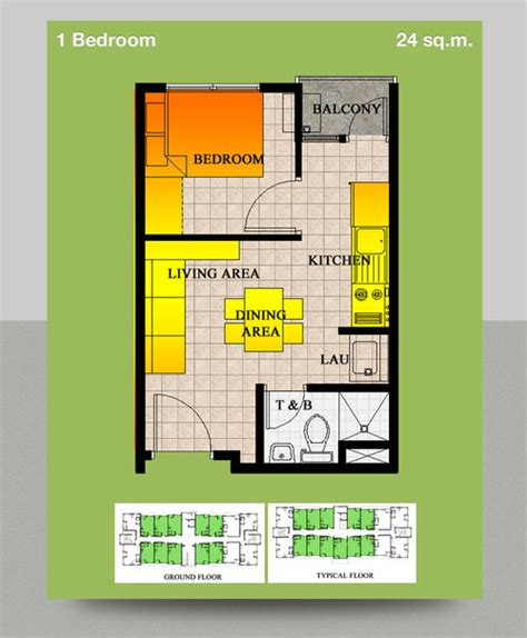 2 Bedroom Condo Floor Plans by I Need A Design For My 24 Sq Meter Condo