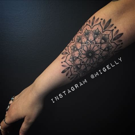 sacred rose tattoo brisbane mandala by migelly shaw sacred brisbane
