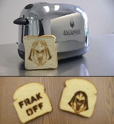 Frakkin Toaster cylon toaster makes frakkin geeky toast techeblog