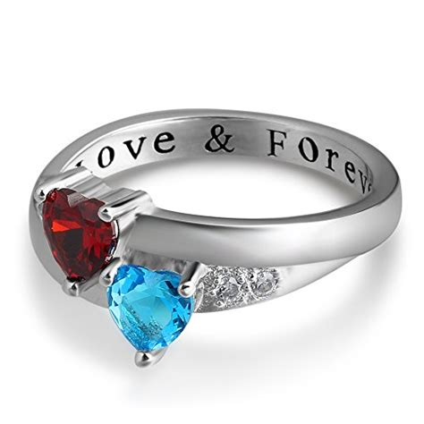 personalized forever engagement rings couples