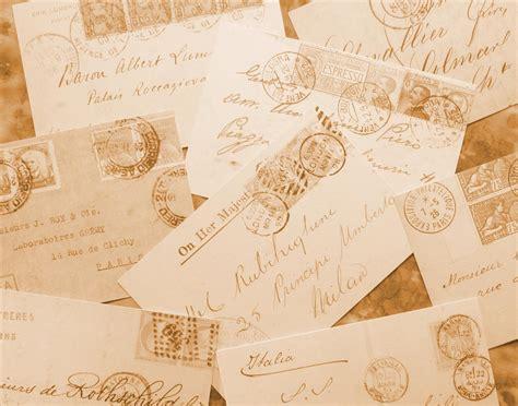 Letter Ppt Vintage Vintage Floral Free Letters Cards
