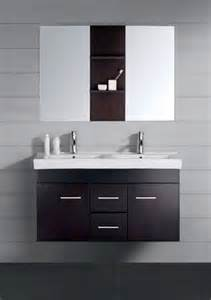 47 inch modern sink bathroom vanity espresso with