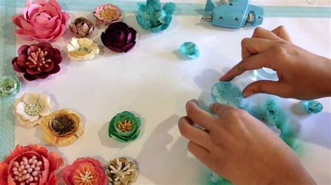 Make Your Own Paper Flowers - make your own paper flowers with the bloom impressions