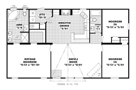 simple open floor plans a 3bedroom simple floor plan bestsciaticatreatments com