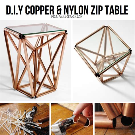 Copper Pipe Table by Copper Diy Inspiration Tutorials