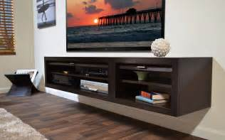 console shelves floating media console a way to display your tv with
