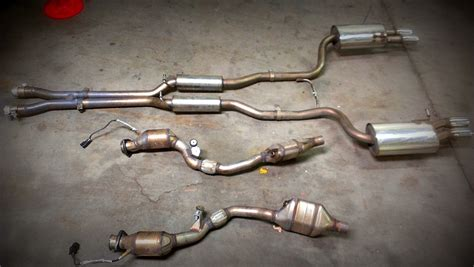 2005 audi s4 exhaust b6 b7 audi s4 piggie pipes downpipes nick s car