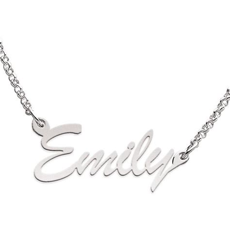 limoges sterling silver emily necklace 13586199