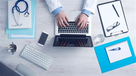 Computer Office Desk by Free Picture Doctor Office Laptop Computer Smartphone