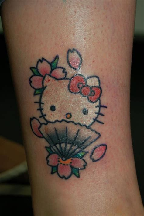 hello kitty tattoo design 35 hello design entertainmentmesh
