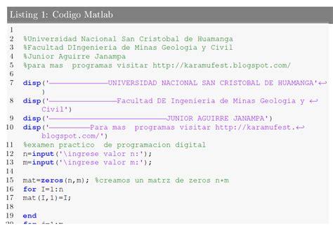 imagenes en latex pdf no molestar insertar codigo fuente matlab y c
