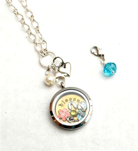 Origami Owl Necklace Cost - diy beaded necklace charm latta creations