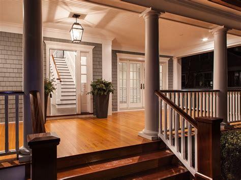 wraparound deck wrap around porch post