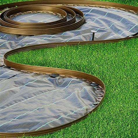 bordi per giardino bordura per aiuole verde chrispol system lunghezza 10