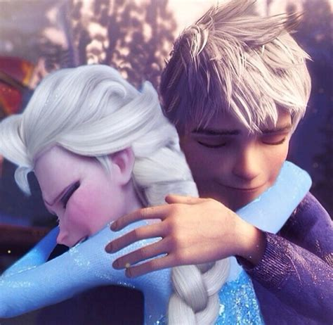 how to give a comforting hug comfort hug elsa jack frost photo 37065383 fanpop