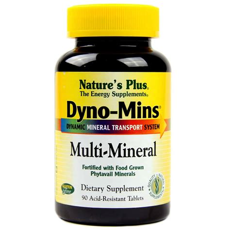 Dyno Vites Wellness 30 Tablet nature s plus dyno mins multi mineral 90 tablets