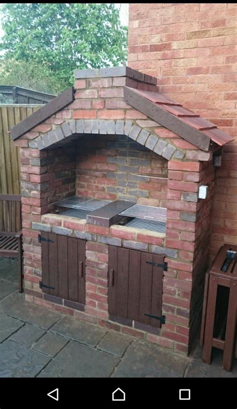 backyard brick bbq the 25 best brick bbq ideas on pinterest brick grill