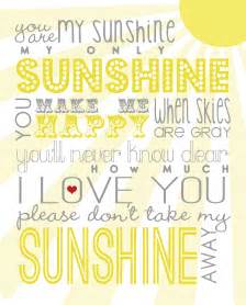 Designerblogs Com you are my sunshine free printable designer blogs