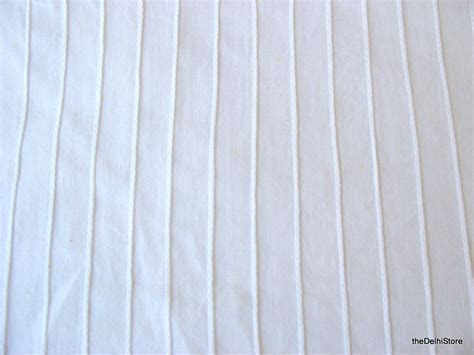 white cotton upholstery fabric white cotton pintucks fabric by yard