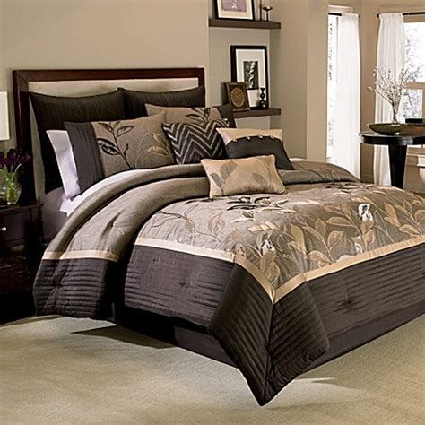 bed bath and beyond comforter sets buy manor hill 174 eden 8 piece queen comforter and sheet set