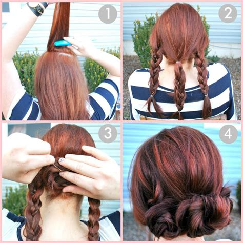 easy braids to do on yourself easy wedding hairstyles you can do yourself hair world