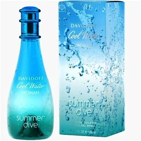 davidoff cool water summer dive cool water sea scents and sun by davidoff 3 4 oz edt for