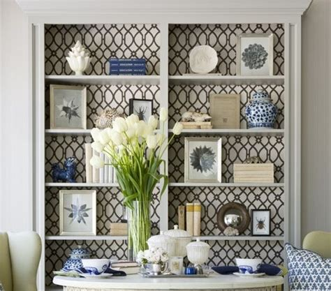 Wallpaper Back Of Bookcase wallpaper wrapping paper creative uses in your home driven by decor