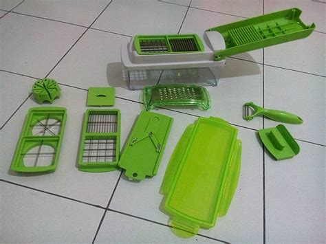 Sale Nicer Dicer Plus Multifungsi Chopper Sayur Buah Stainless nicer dicer plus chopper kitchen as seen tv 356 produk albc