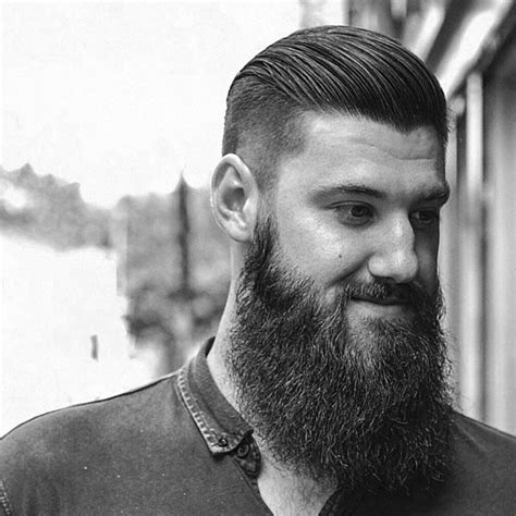 undercut with beard undercut with beard haircut for men 40 manly hairstyles