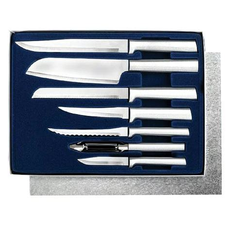 rada cutlery starter set 7 pc boxed gift set made in usa
