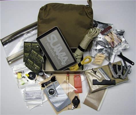 suma pro navy seal survival kit display