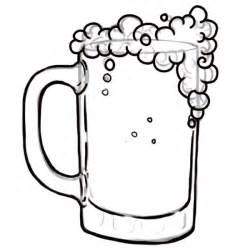 free coloring pages of beer mug
