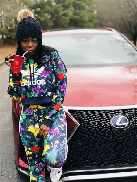 style adidas blossom  life cropped hoodie leggings