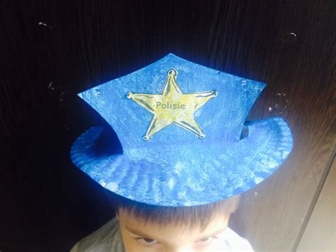 Paper Hats For Preschoolers - how to make a policeman hat blink ogies