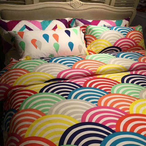 popular rainbow bedding buy cheap rainbow bedding lots