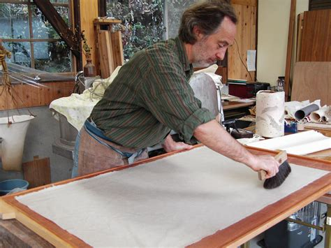 Handmade Paper Process At Home - dutchman keeps paper traditions alive at his