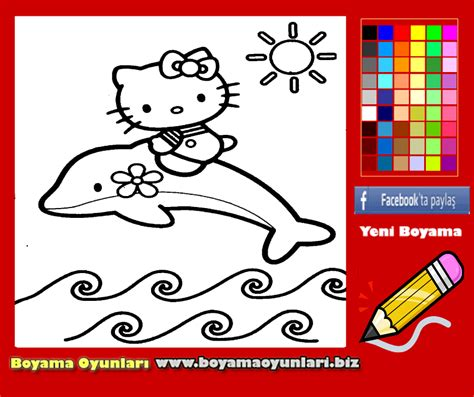 hello kitty with dolphin coloring pages play dora the explorer coloring game online