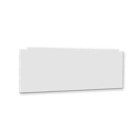 facade baignoire fa 231 ade pour baignoire 1 c 244 t 233 couleur blanc amapola
