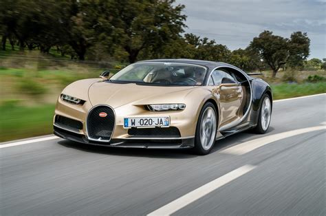 bugatti chiron gold 2018 bugatti chiron drive review automobile magazine