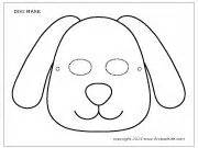 printable dog mask template dog mask 2 animal stuff pinterest dog mask masks